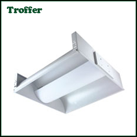 Induction Fluorescent Troffer Lighting